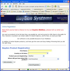 Bayden Systems - Registration - Mozilla Firefox