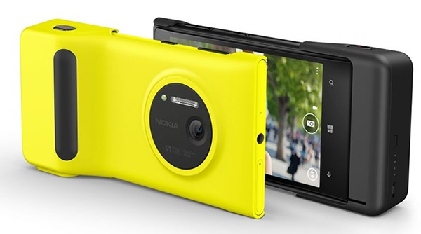 The Nokia Lumia 1012 Camera Grip