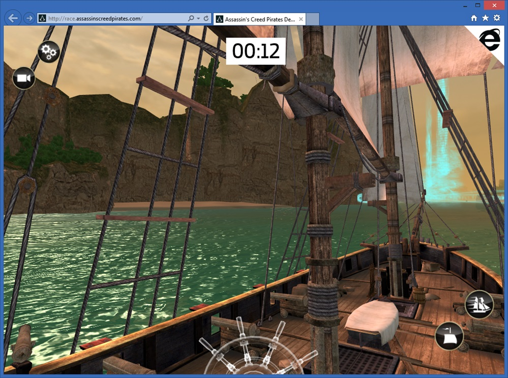 3D Assassin's Creed Pirates in my browser