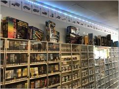 Retro Game Trader has shelves upon shelves of classic games
