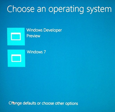 New Windows 8 Boot Manager?