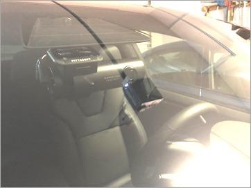 A clean dashcam installation