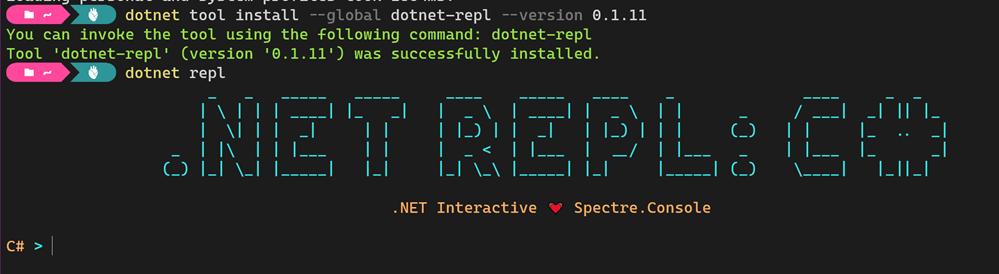 .NET REPL