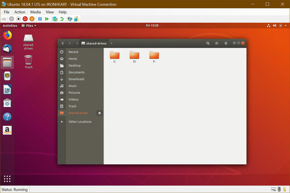 Ubuntu on Windows 10