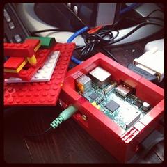 LEGO Raspberry Pi Case