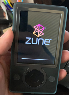 A glorious little Zune