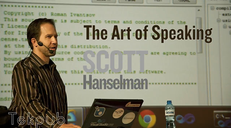 The Art of Speaking with Scott Hanselman