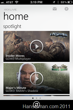 Xbox Videos on iPhone