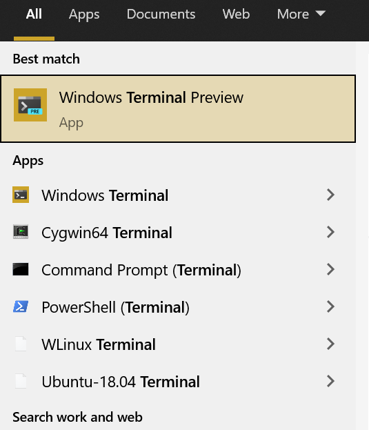 Windows Terminal for All