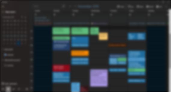 My colorful calendar