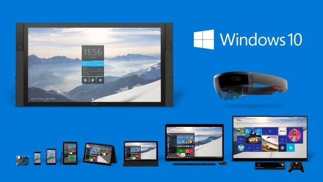 Windows 10 runs everywhere