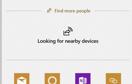 Looking for Nearby Devices