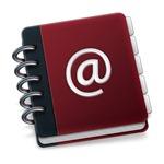 An address book with a spiral binder