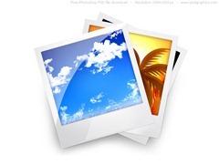 Stack of Polaroids