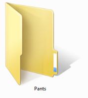 Manila Folders are where you put things