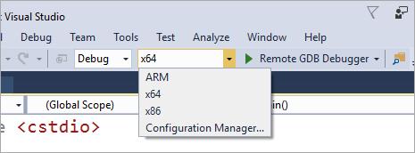 Remote GDB Debugger options