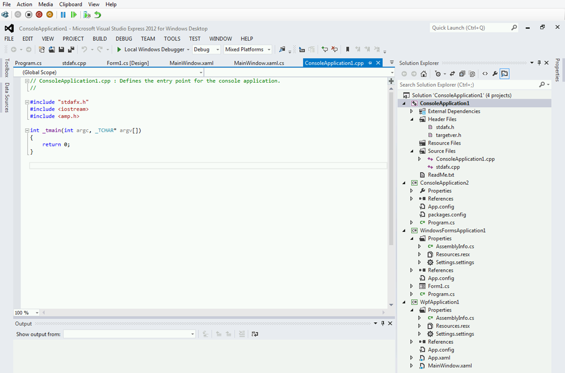 Visual C Express 2012 Download