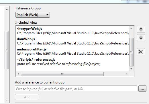 JavaScript References