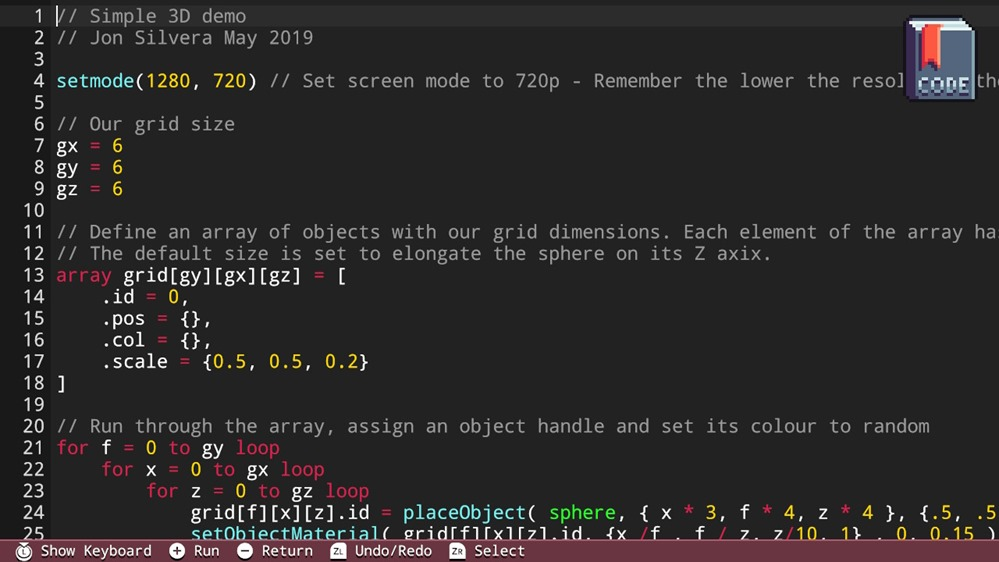 Writing code with FUZE4