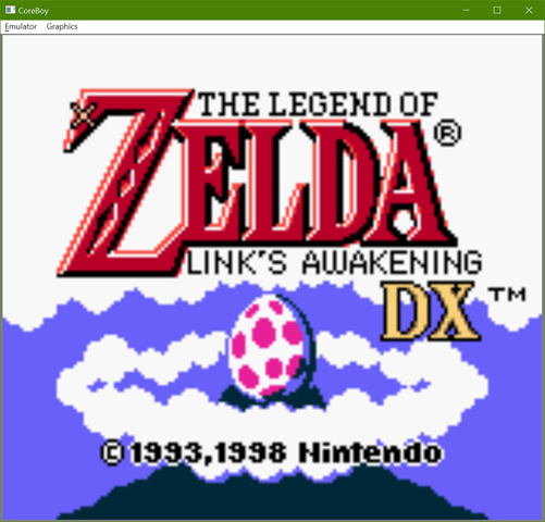CoreBoy - Zelda Link's Awakening