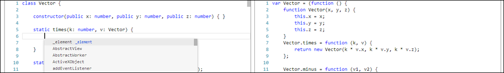 Where is this JavaScript-based editable code area coming from?