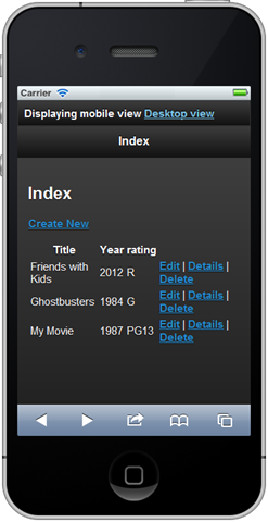 Basic App in an iPhone
