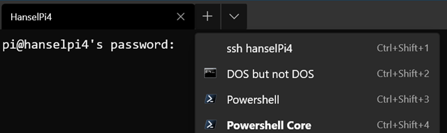 ssh'ing into a Raspberry Pi