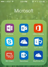 MicrosoftiPhoneApps