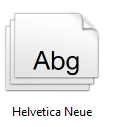 Helvetica Neue is a nice font for presentations