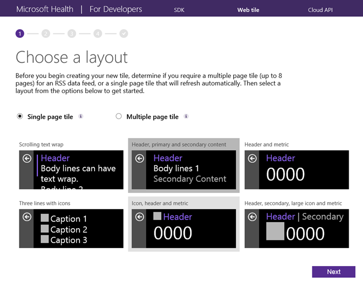 Web Tile Authoring Tool