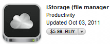 iStorage Icon