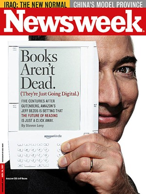 Bezos on the cover of Newsweek