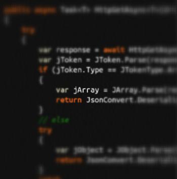 Evocative random source code photo
