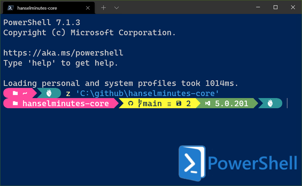 Windows Terminal Pretty Prompt