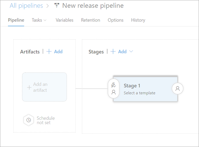 Creating a new Release Pipeline