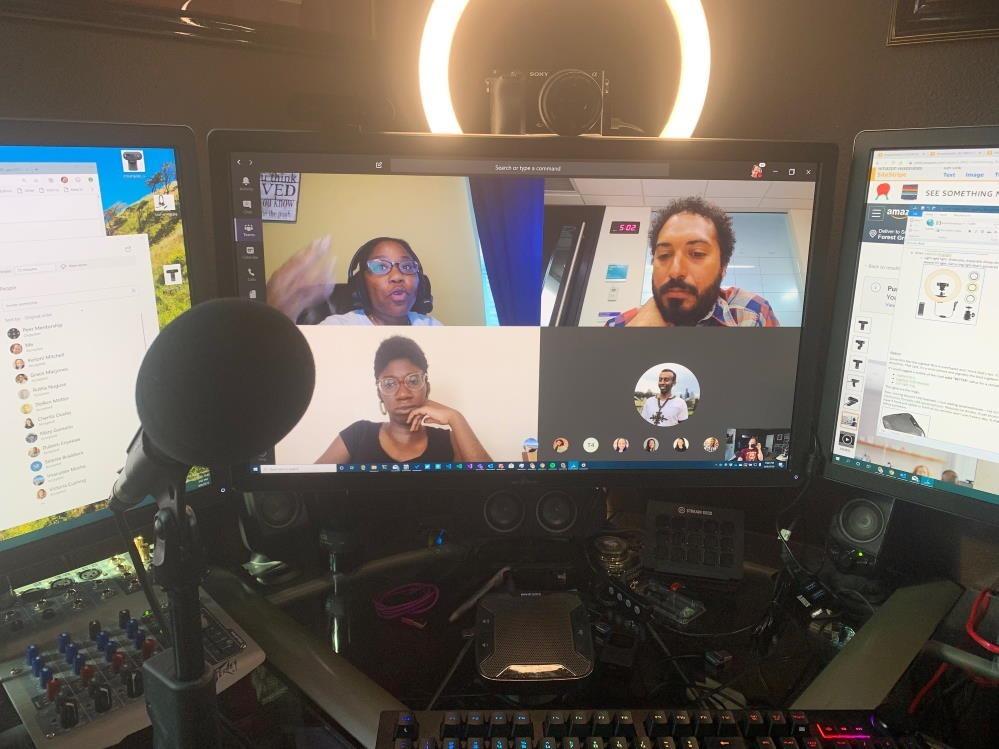 My setup - webcam and camera