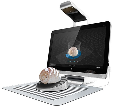 HP Sprout with Capture Stage