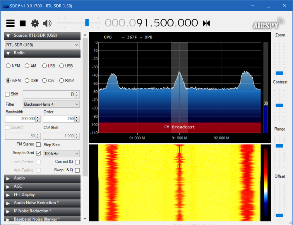 Listening to the Radio with SDR