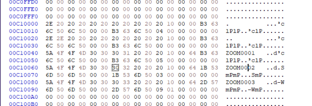 Hexdump of FAT32 Directory Table shows that there ARE directories