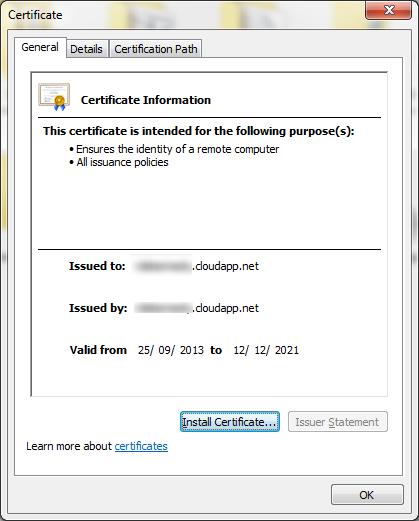 06 - Certificate Install