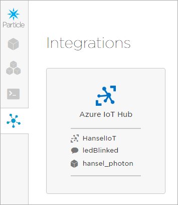 Particle has Azure IoT Hub integration built in