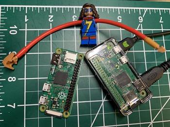 Raspberry Pi Zeros are SMALL
