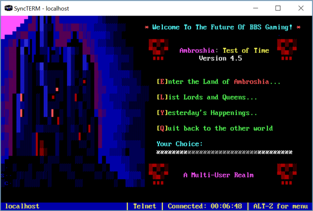 Running a Door Game - Ambroshia Test of Time