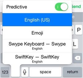 Switching Keyboards