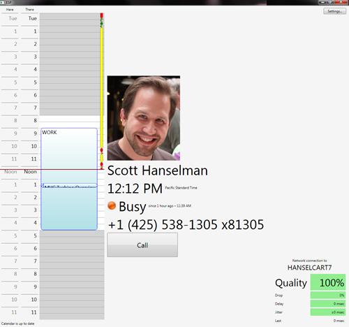 Screenshot of the Social Proxy Software