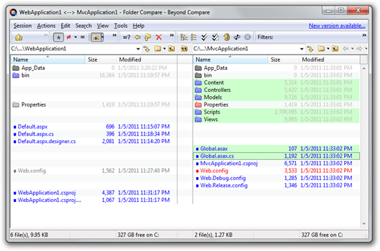 WebApplication1 _--_ MvcApplication1 - Folder Compare - Beyond Compare (10)