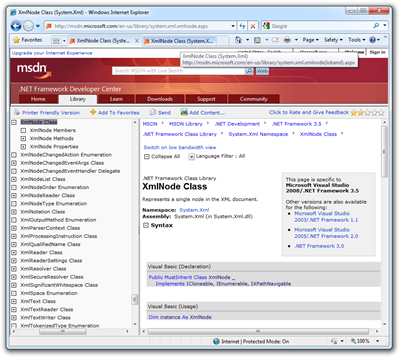 XmlNode Class (System.Xml) - Windows Internet Explorer
