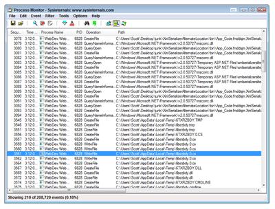 Process Monitor - Sysinternals www.sysinternals.com