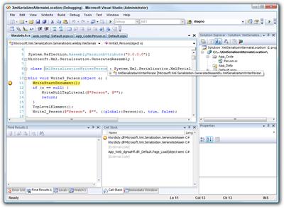 XmlSerializerAlternateLocation (Debugging) - Microsoft Visual Studio (Administrator) (2)