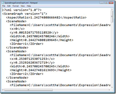 SparseImageSceneGraph.xml - Notepad